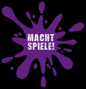 Macht Spiele! Logo